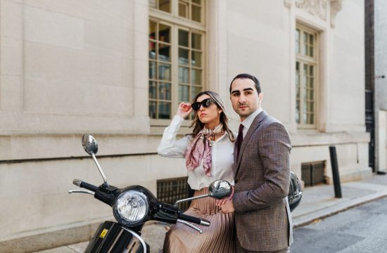 20's themed Engagement Session